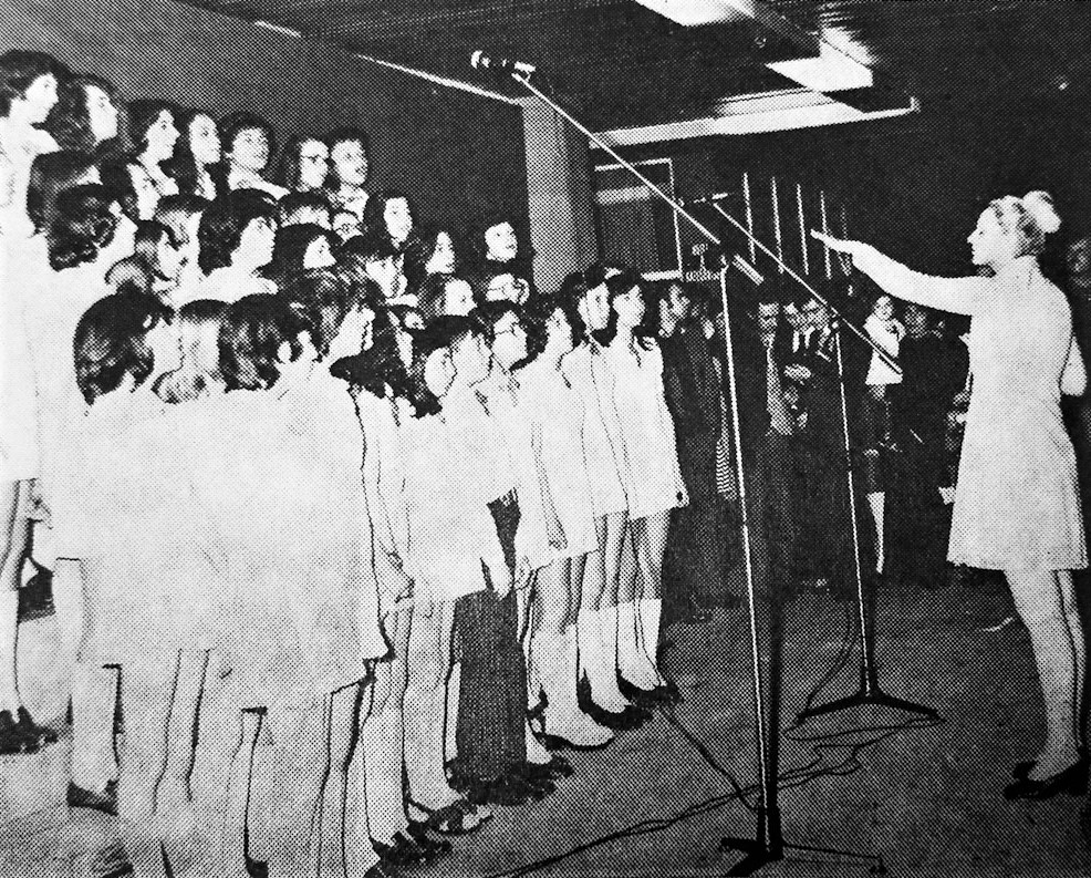 GIRLS' CHOIR FOUNDED