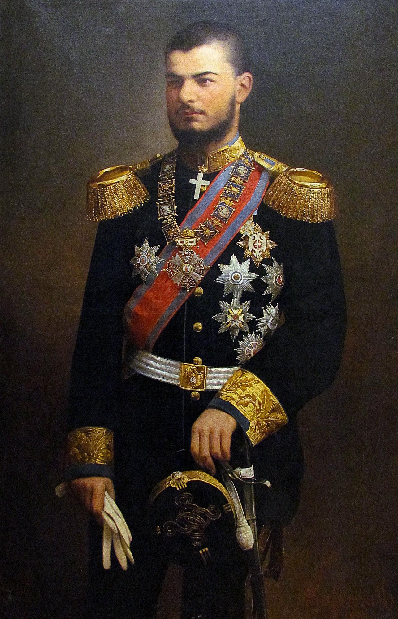 KING ALEXANDER OBRENOVIĆ STAYED
