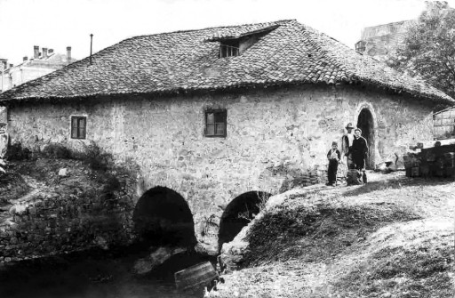 WATER MILL BEFORE WORLD WAR I